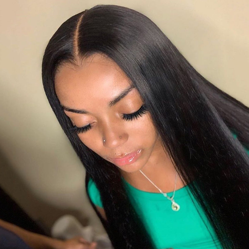 13X4 Lace Front Wig Silky Straight