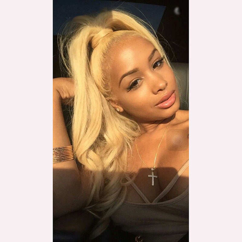 Blonde 13X6 Lace Wig Body Wave