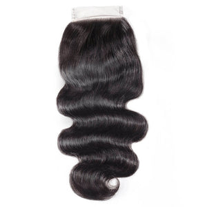 Raw Virgin Hair 4x4 Lace Closure Body Wave