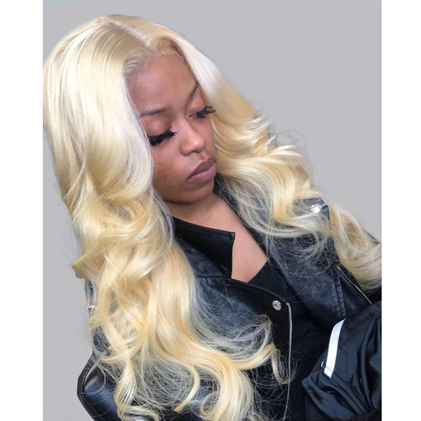 Blonde T Part Lace Wig Body Wave