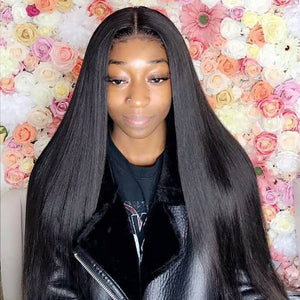 360 Lace Frontal Wig Silky Straight
