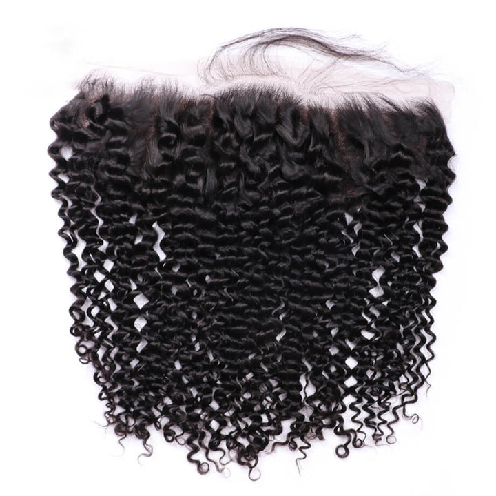 Remy Virgin Hair 13x4 Lace Frontal Kinky Curly