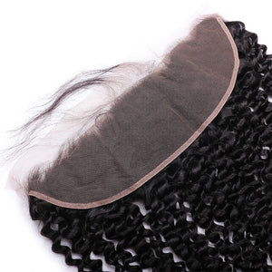 Raw Virgin Hair 13x4 Lace Frontal Kinky Curly