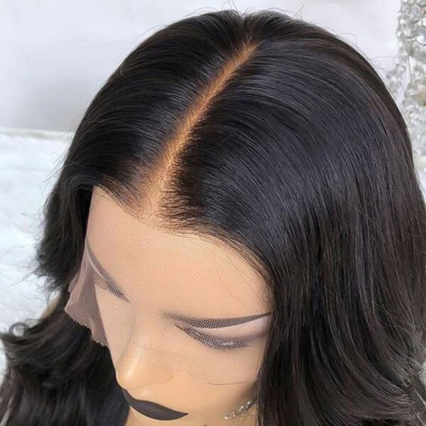 Fake Scalp Wig Silky Straight 13x6 Lace