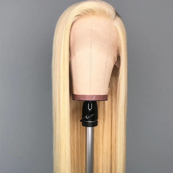 Blonde 13X6 Lace Wig Silky Straight