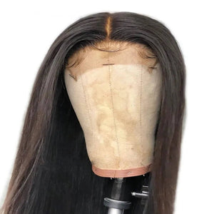 Closure Wig Silky Straight 250% Density
