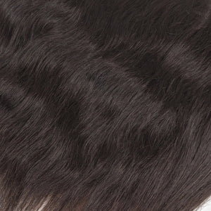 Raw Indian Hair 13x4 Lace Frontal Natural Straight