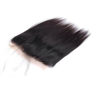 Raw Virgin Hair 360 Transparent Lace Frontal Silky Straight