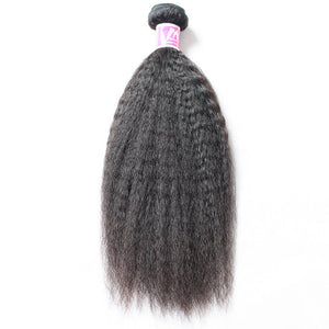 Raw Virgin Hair Weave 3 Bundle Deals Kinky Straight