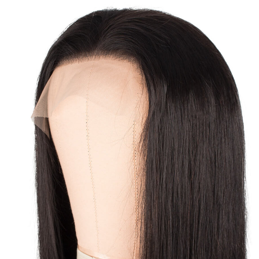 Invisible Transparent 13x6 Lace Front Wig Silky Straight