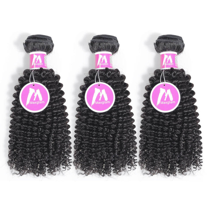Raw Virgin Hair Weave 3 Bundle Deals Kinky Curly