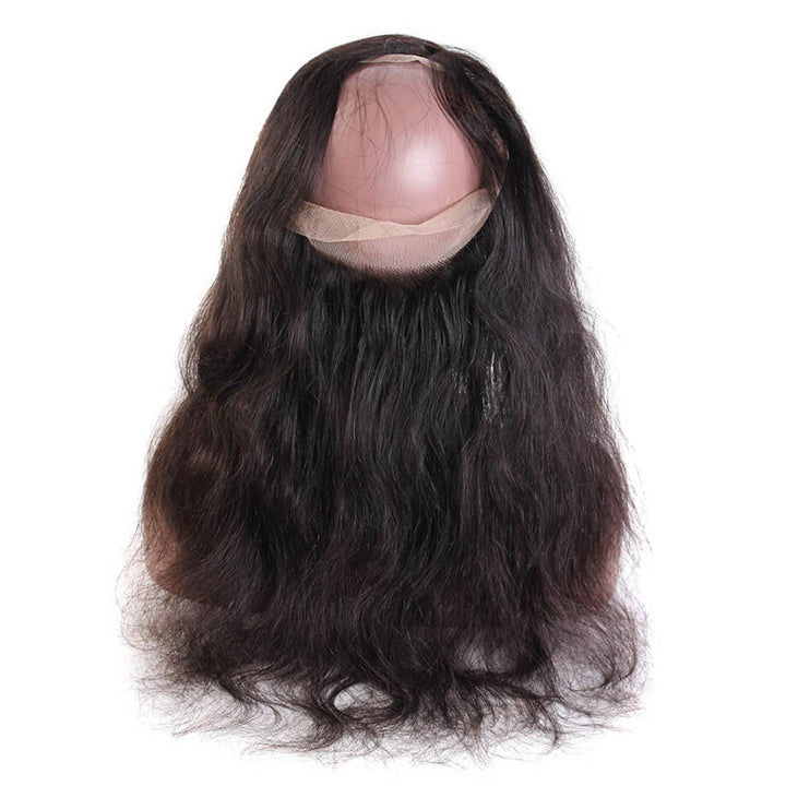 Raw Virgin Hair 360 Transparent Lace Frontal Body Wave
