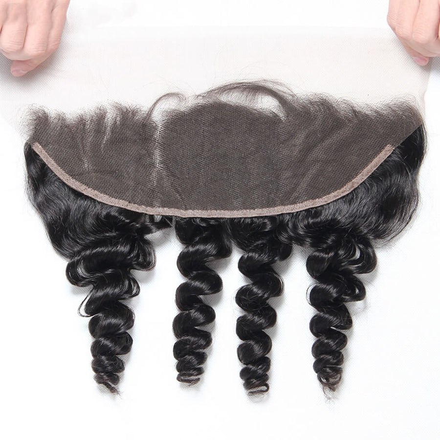 Raw Virgin Hair 13x4 Lace Frontal Loose Wave