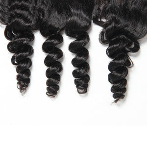 Remy Virgin Hair 13x4 Lace Frontal Loose Wave