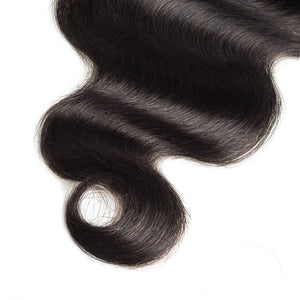 Raw Virgin Hair 13x6 Transparent Lace Frontal Body Wave