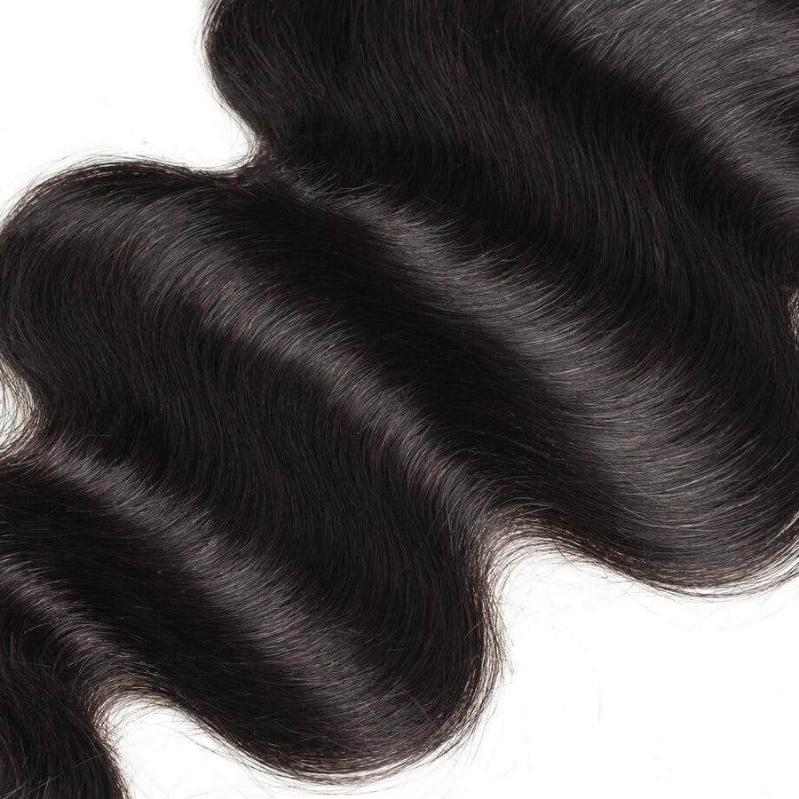 Raw Virgin Hair 6x6 Transparent Lace Closure Body Wave
