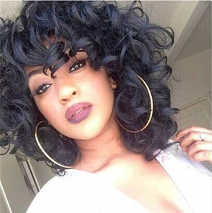 13x4 Lace Bob Wig Big Loose Curl