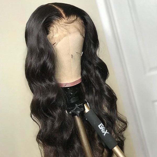 13X4 Human Hair Lace Front Wig Body Wave