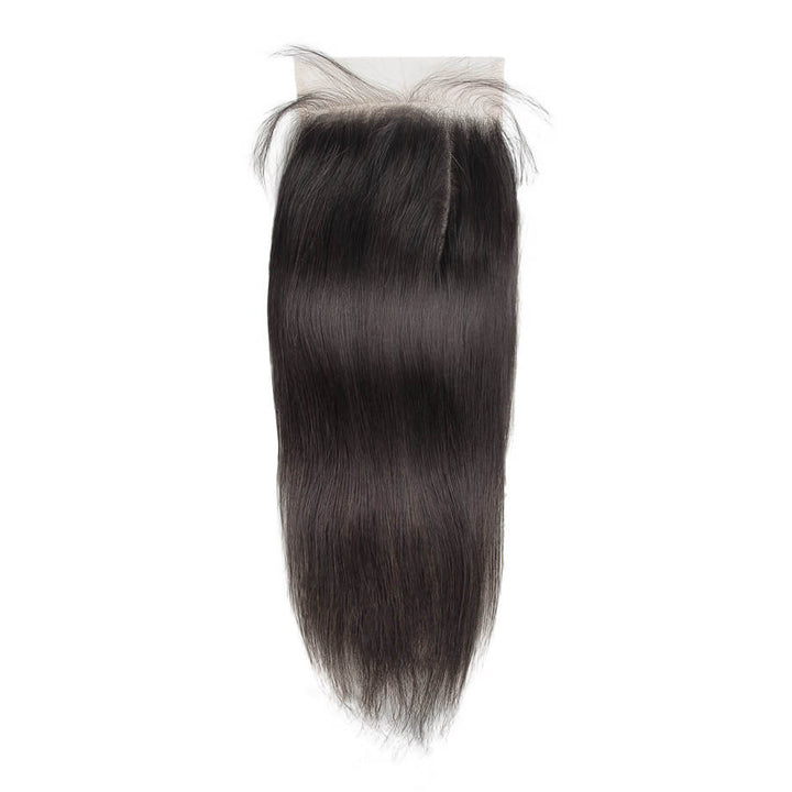 Raw Virgin Hair 6x6 Transparent Lace Closure Silky Straight
