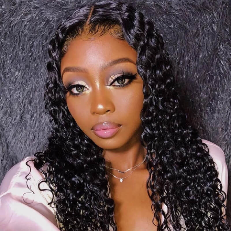 13X6 Lace Front Wig Wet and Wavy