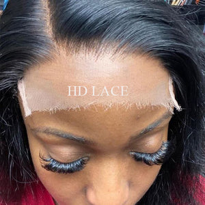 Human Hair Swiss Lace 5x5 HD Lace Wig Silky Straight