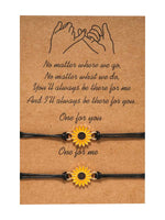 Load image into Gallery viewer, Sunflower Sun Flower Daisy Bracelet