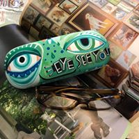 Load image into Gallery viewer, Eyeglass Case & Cleaning Cloth - EYE SEE YOU