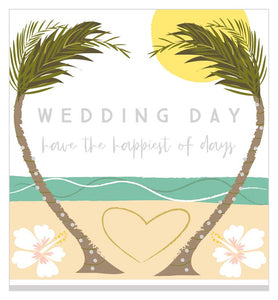 Greeting Card - WEDDING DAY