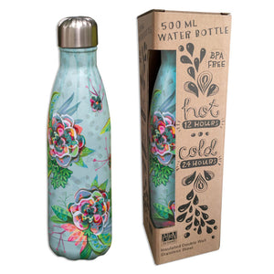 Insulated Drink Bottle - Blooms