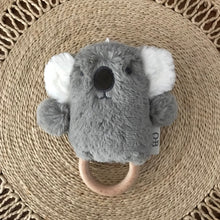Load image into Gallery viewer, Wooden Teething Rattle - Kelly Koala