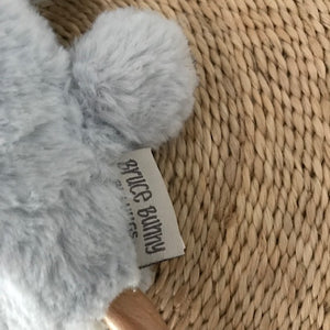 Wooden Teething Rattle - Bruce Bunny