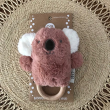 Load image into Gallery viewer, Wooden Teething Rattle - Kate Koala