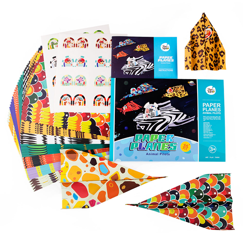 PAPER PLANES KIT - ANIMAL PILOTS