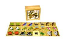 Load image into Gallery viewer, Wooden Memory Game - AUSTRALIAN ANIMALS