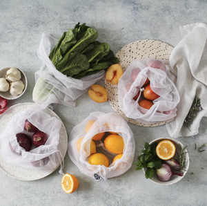 Reusable Produce Bag - Mesh 8 Pack