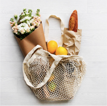 Load image into Gallery viewer, Cotton String Bag - Natural