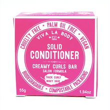 Load image into Gallery viewer, Creamy Curls - SOLID CONDITIONER BAR