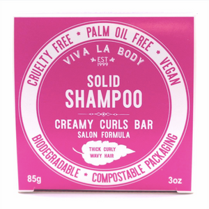 Creamy Curls - SOLID SHAMPOO BAR