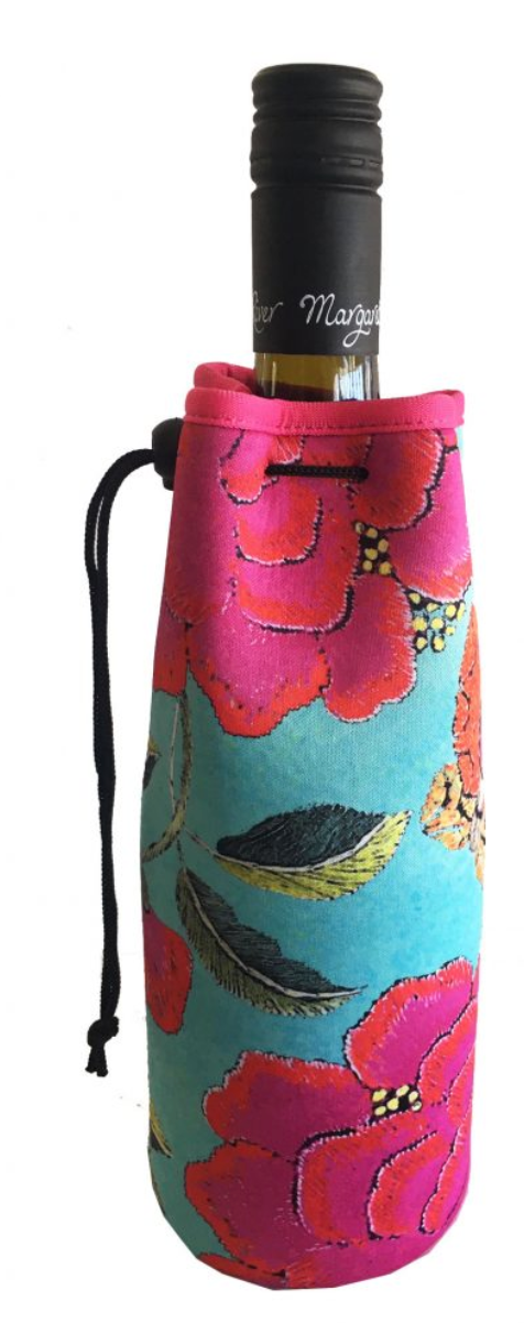 Bottle Cooler Bag - BIG PEONY