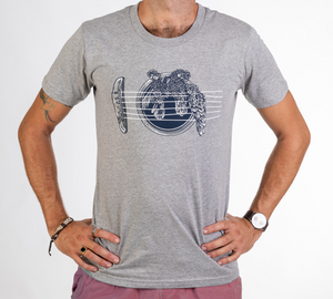 T-Shirt : BIRDS ON A WIRE