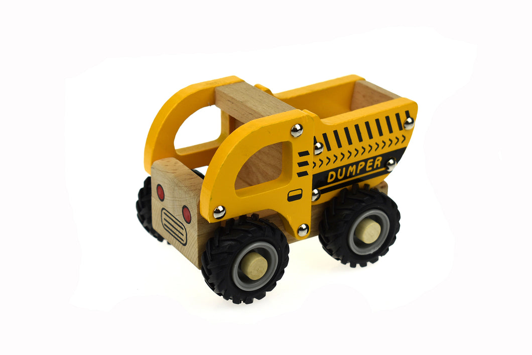 Wooden Vehicle - DUMP TRUCK