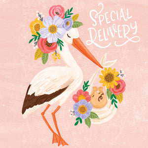 Greeting Card - SPECIAL DELIVERY