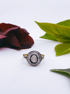Saachi Diamond Ring (Small Circle)