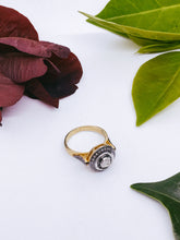 Load image into Gallery viewer, Saachi Diamond Ring (Small Circle)