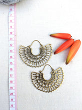 Load image into Gallery viewer, Toledo Brass Earrings