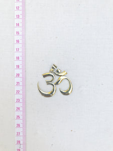 OM Yoga Pendant Necklace |  With or Without Chain