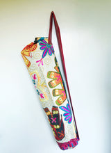 Load image into Gallery viewer, Handmade Indian Elephant Yoga Mat Bag Embroidered Vintage Boho Colorful  Ganesha