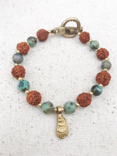 Load image into Gallery viewer, SEA Rudraksha Healing Crystal Bracelet