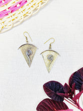 Load image into Gallery viewer, Inner Growth Brass Earrings