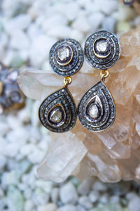 Saachi Diamond Drop Earrings